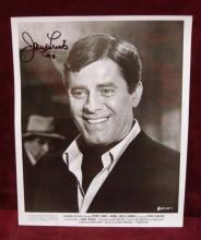 JERRY LEWIS SIGNED 8 X 10 PHOTOGRAPH