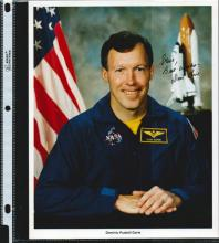 DOMINIC PUDWILL GORIE SIGNED 8 X 10 NASA PHOTOGRAPH