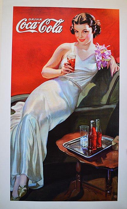 DRINK COCA COLA ADVERTISING POSTER