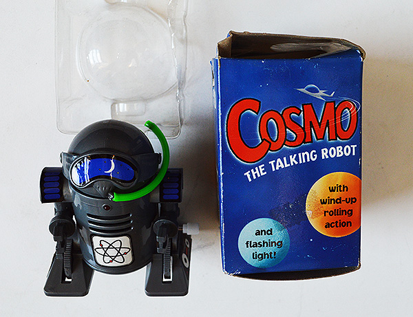 Cosmo Toy Robot New : Cosmo quot the talking robot