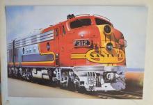 SANTA FE AMERICAN TRAIN 312