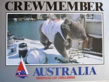 BARRY STEVENS CREWMEMBER, AUSTRALIA #2