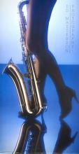 ED MASTERSON, LADY AND SAXOPHONE