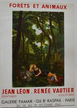 JEAN LEON, RENEE VAUTIER