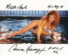 CORINNA HARNEY - 8 X 10 PHOTOGRAPH