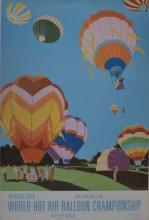 WORLD HOT AIR BALLOON CHAMPIONSHIP, JUNE 28, 1981