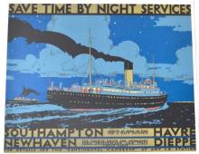 SAVE TIME BY NIGHT SERVICES, SOUTH HAMPTON, NEWHAVEN