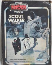 STAR WARS THE EMPIRE STRIKES BACK SCOUT WALKER VEHICLE