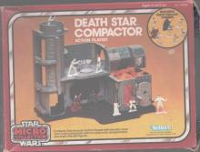 STAR WARS MICRO COLLECTION DEATH STAR COMPACTOR ACTION