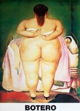 Botero, Colombian (1932): The Morning After 1990