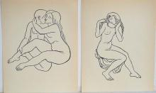 MAILLOL WOODCUTS ORIGINAL LITHO PRINTED BY MOURLOT