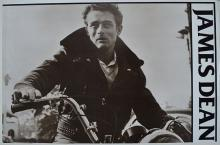 JAMES DEAN ON A MOTORE BIKE POSTER liquidation 50% off