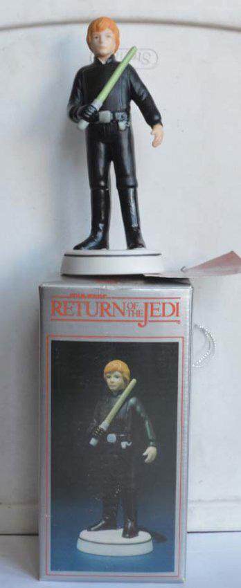 Hand Painted Luke Skywalker Figurine