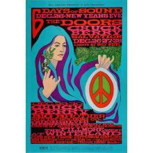 The Doors - Chuck Berry - 1967 Concert Poster