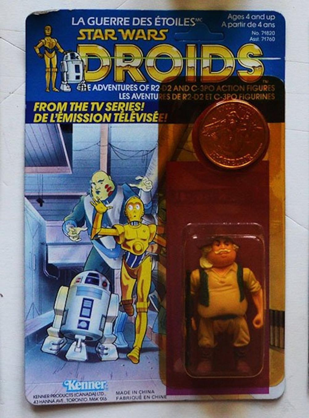 Star Wars Droids Uncle Gundy Figurine W Coin