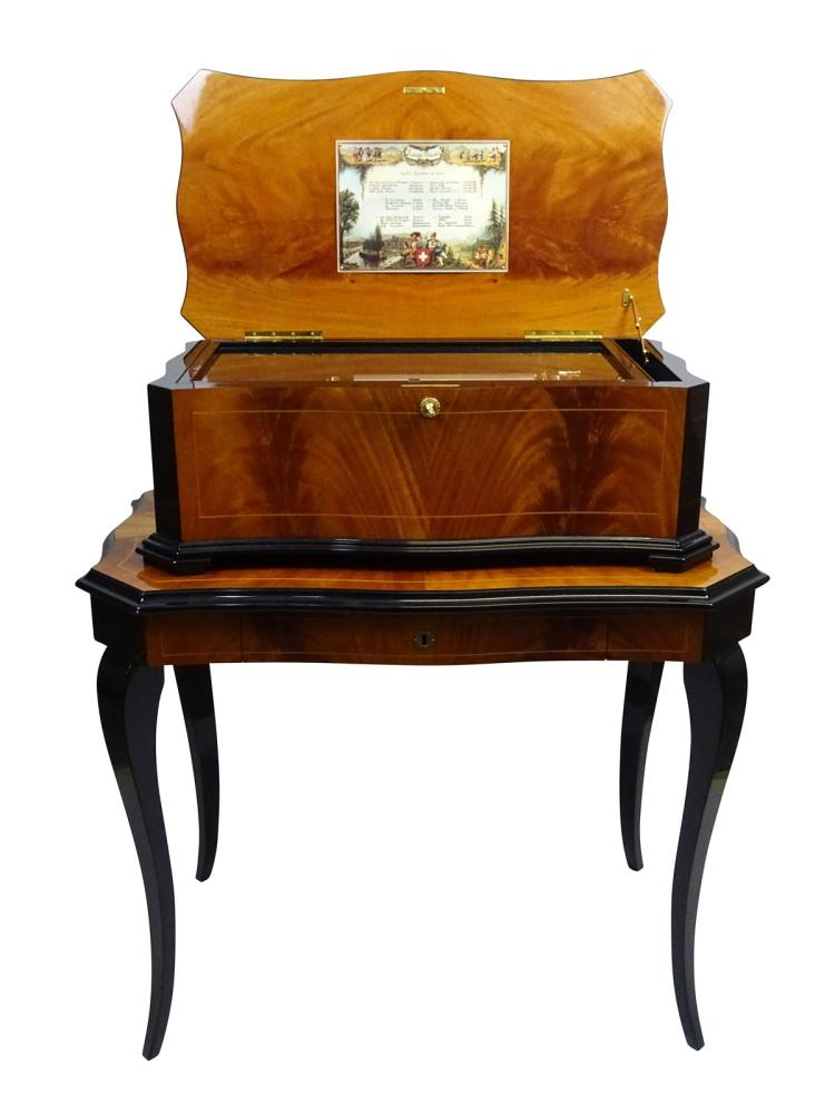 reuge boite musique bo te musique revolver sur sa t. Black Bedroom Furniture Sets. Home Design Ideas