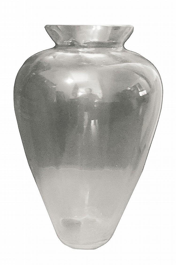 verrerie scandinave circa 1970 80 grand vase balustre. Black Bedroom Furniture Sets. Home Design Ideas