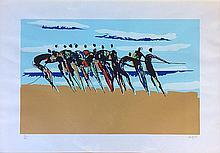 CARYBE (1911-1997).  Personnages à la corde