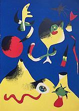 MIRO Joan (1893-1983).  L'Air