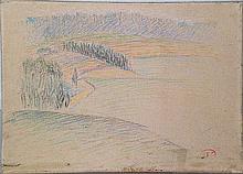 CROSS Henri Edmond (1856-1910).  Paysage