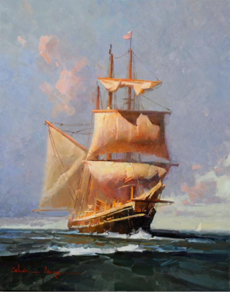 Calvin Liang, Tall Ship in San Diego Bay