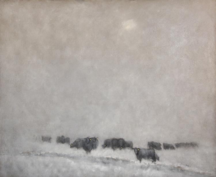 Nancy Bush, Snow Fog, Rociada Valley