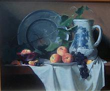Joan Potter, Pewter and Grapeleaves