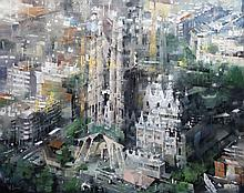 Mark Laguë, La Sagrada Familia, Barcelona