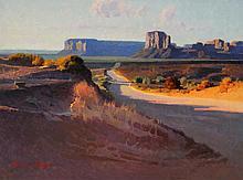 Calvin Liang, Canyon Land, Monument Valley