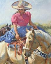 Gladys Roldan-de-Moras, Escaramuza La Tejana