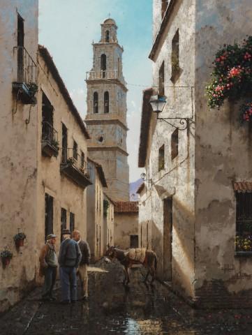 George Hallmark, Sombras de Espana