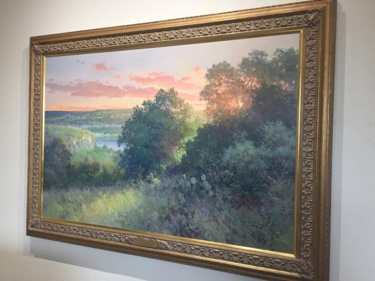 Robert Pummill, Sunrise Over the Lower Llano