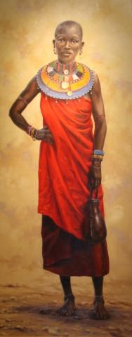 Lindsay Scott, Masai Maiden