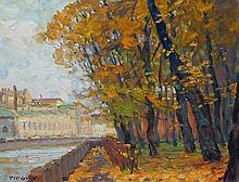 Aleksander Titovets, Autumn in St. Petersburg