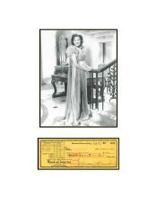 Maureen O'Hara Dress with Check
