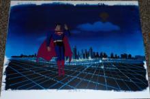 Superman Production Cel
