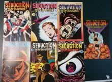 SEDUCTION OF THE INNOCENT 6 ISSUE COMIC Book SET#1-6 + 3-D issue #1, ECLIPSE COMICS