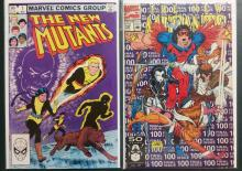 The New Mutants Comic books, issues #1, 100