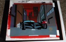 Batmobile Production Cel