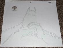 Batman Dark Knight Production Drawing
