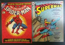 Comics lots, Spectacular Spm. #1, superman (no. C-38) Limited Collectors editions