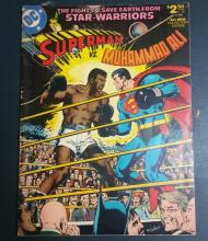 Superman vs. Muhammad Ali, Over-sized Comic book