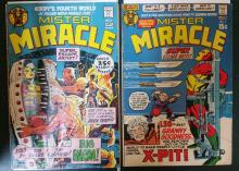 Vintage comic books, Mister Miracle #2, #4 (1st BIG BARDA Jack Kirby Cover & Art)