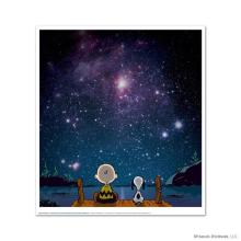Peanuts fine art: