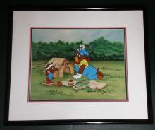 Spike And Tyke, Tom & Jerry Cel Limited Edition 130/250 Signed By Marcia Fertig