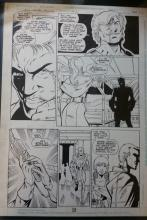 Original comic art: Legionnairs Annual #1
