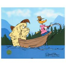 Fish Tale by Chuck JonesL.E.  Animation Cel Numbered and Hand Signed with Certificate of Authenticity!