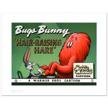 Hair Raising Hare Limited Edition Giclee from Warner Bros., Numbered with Hologram Seal and Certificate of Authenticity!