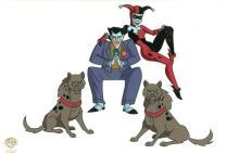 Joker and Harley Cel Prototype Warner Bros.