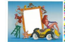 Disney Sericels - Jessica Rabbit - Add you own 4x6 photo